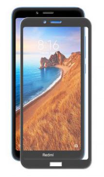 Защитное стекло противоударное PALMEXX для Xiaomi redmi 7A 5D черное
