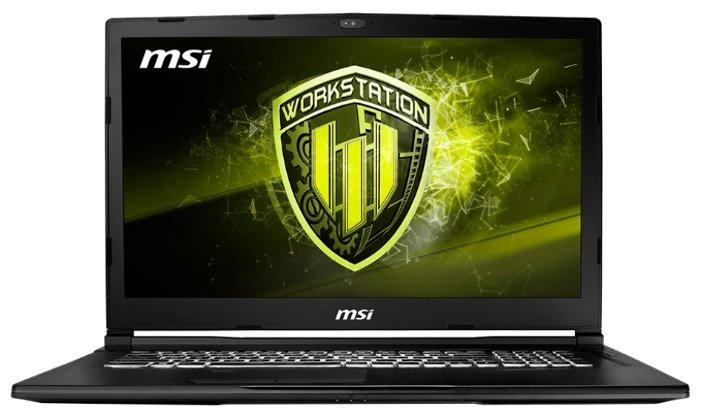 Ноутбук MSI WE73 8SJ-074RU Black (9S7-17C632-074)