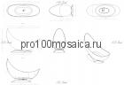 NSB-20767 Ванна из POLYSTONE (акриловый камень) размер,мм: 2000*767*1450 (NS BATH)