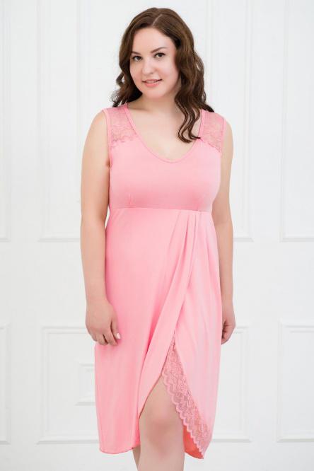 Ночная сорочка арт.0043-07 розовый, вискоза