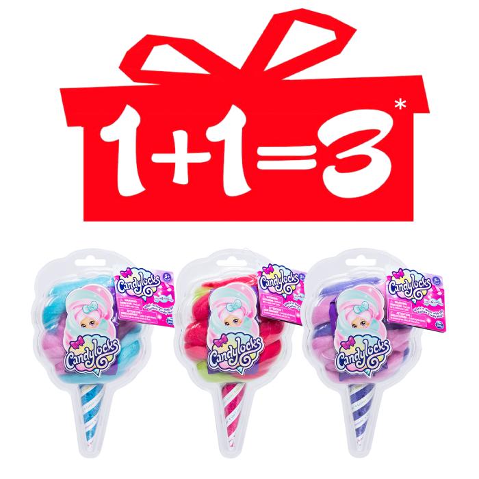 Куклы Candylocks в ассортименте АКЦИЯ 1+1=3