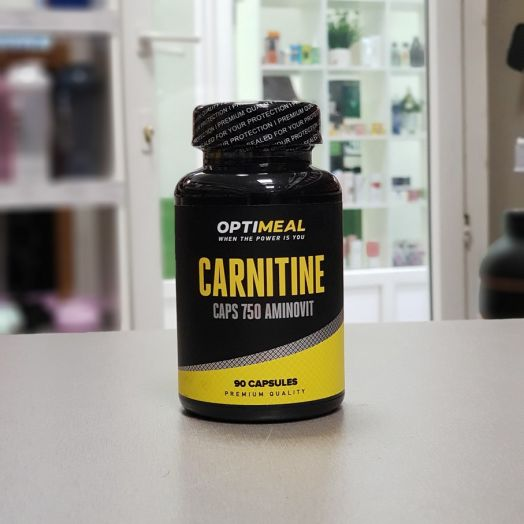 OptiMeal - Carnitine Caps 750 (90 капс.)