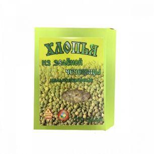 Хлопья цельнозерновые из зеленой чечевицы, 250 гр