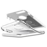 Чехол Spigen Hybrid Armor для iPhone 8 Plus белый - купить в Москве противоударный чехол для Айфон 8 Плюс в интернет магазине Elite-Case.ru