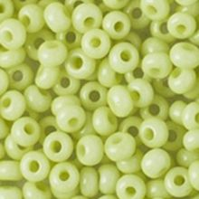 Бисер чешский 03153 салатовый непрозрачный Preciosa 1 сорт