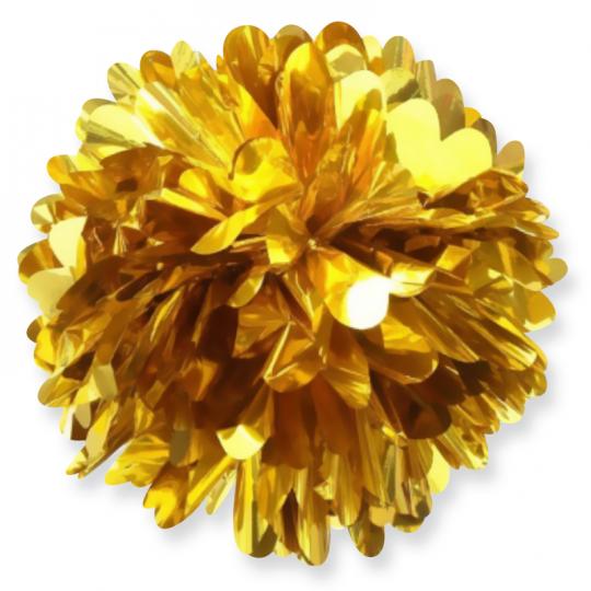 Помпон золотой 20 см