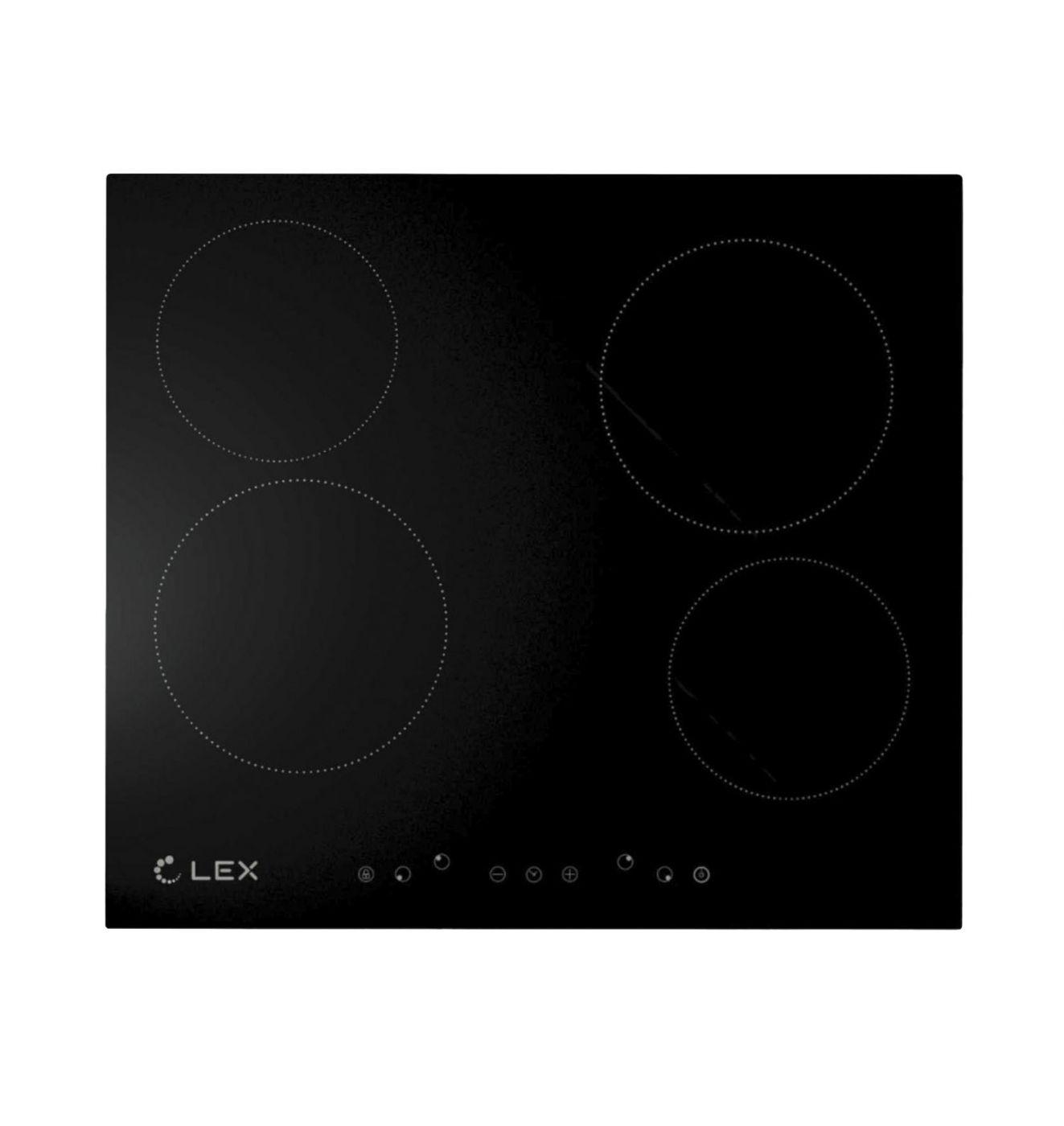 Электрическая варочная панель LEX EVH 640 BL (CHYO000173)