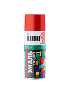 "Краска аэрозоль желтая 520 мл ""Kudo"" KU-1013"