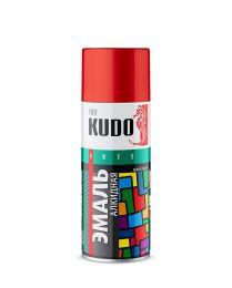"Краска аэрозоль красная 520 мл ""Kudo"" KU-1003"
