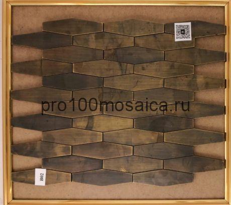B02. Мозаика серия BRONZE соты  размер, мм: 350*280*8 (Happy Mosaic)