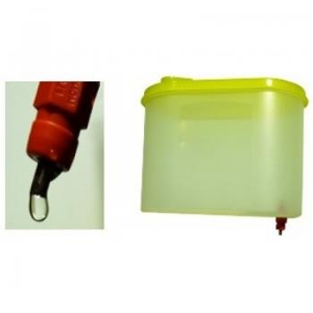 Поилка ниппельная для кур 1,25 литра