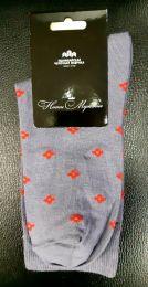 Мужские цветные носки  с418