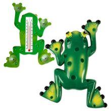 Термометр оконный на присосках Лягушка