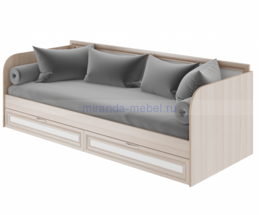 Остин Модуль 23 Кровать с ящиками