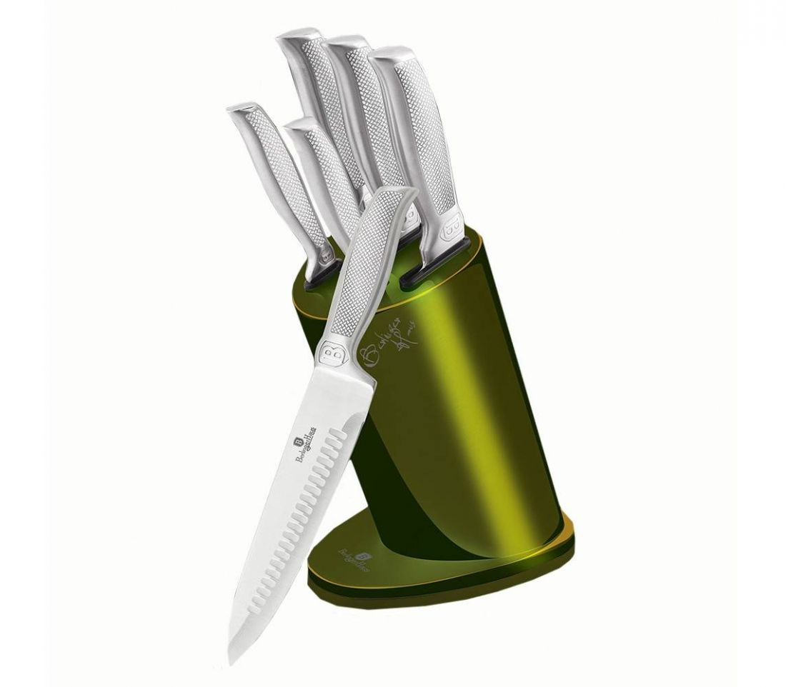 Набор ножей на подставке 6 пр. Berlinger Haus BH-2275 Kikoza Collection