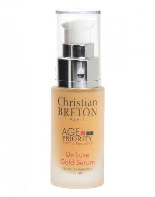 Сыворотка «Золотая роскошь» для увядающей кожи, Christian Breton, 30 мл