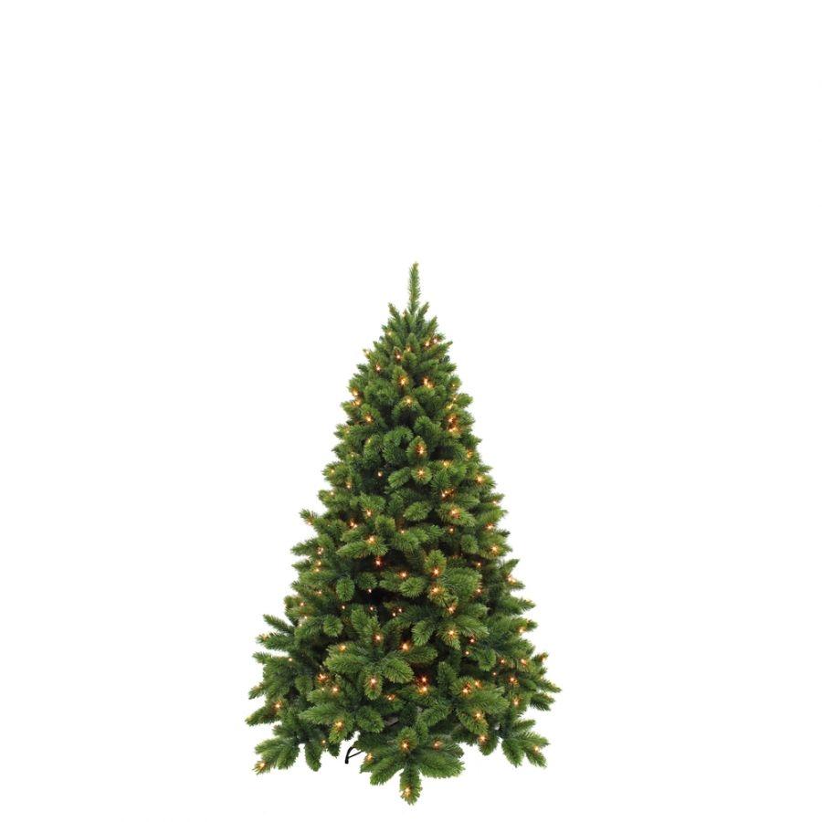Искусственная елка Триумф де Люкс 155 см 144 ламп зеленая