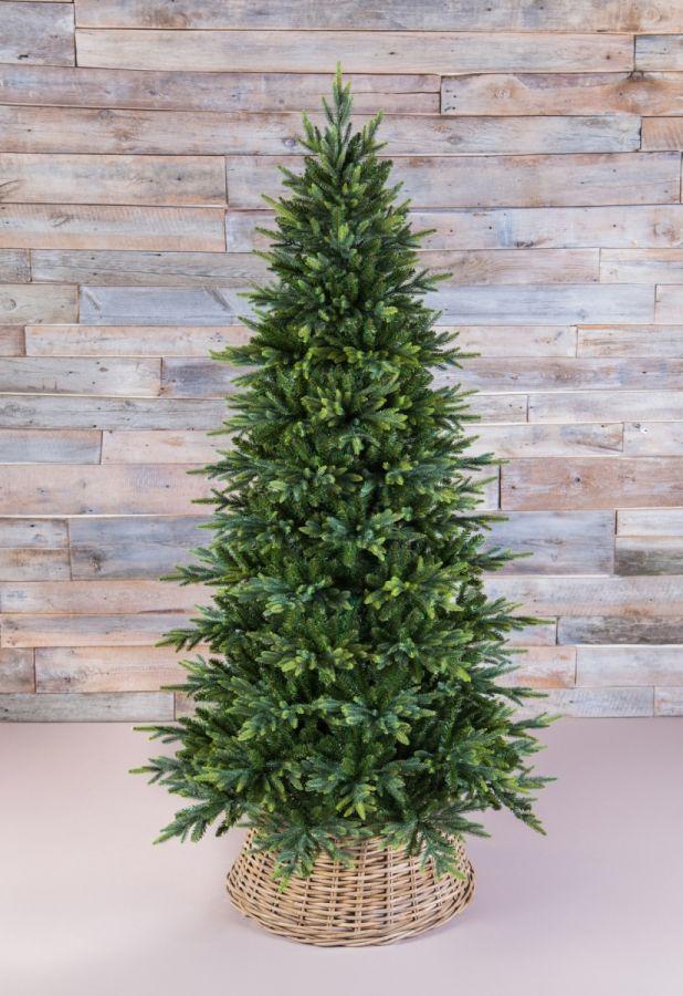 Искусственная елка Королевская стройная 230 см зеленая