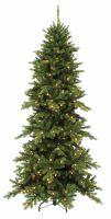 Искусственная сосна Изумрудная 215 см 216 ламп зеленая
