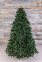 Искусственная елка Нормандия full РЕ 155 см темно-зеленая