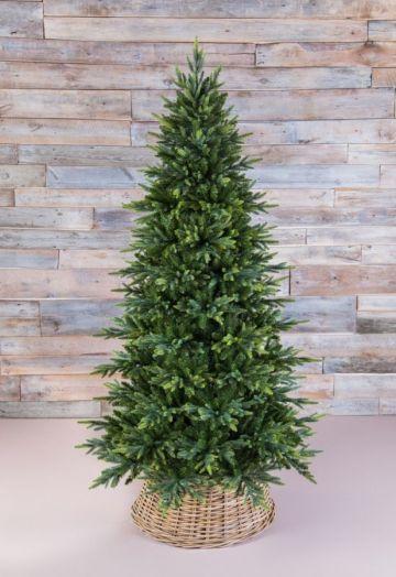 Искусственная елка Королевская стройная 260 см зеленая