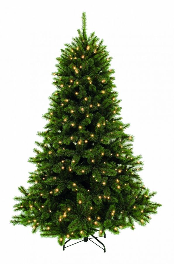 Искусственная елка Лесная Красавица 215 см 304 лампы зеленая