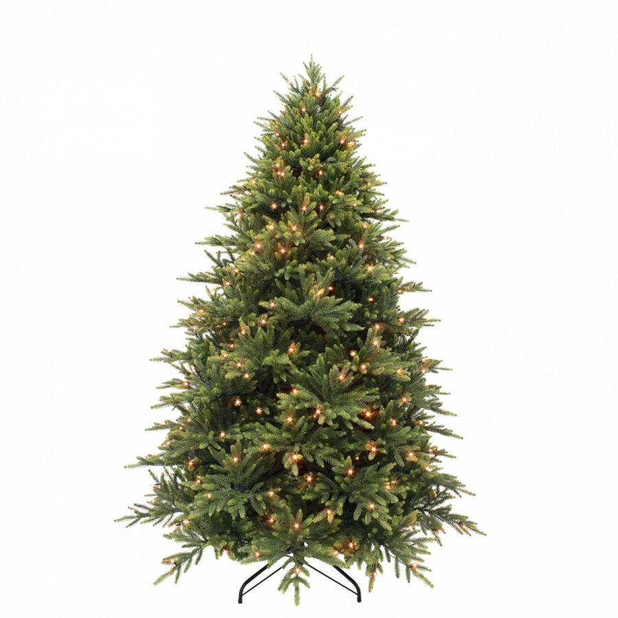 Искусственная елка Королевская премиум full PE 230 см 376 ламп зеленая