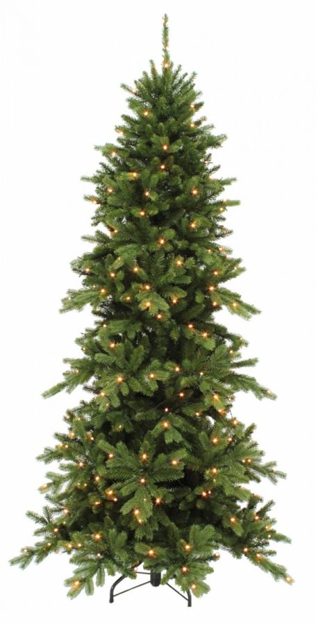 Искусственная сосна Изумрудная 425 см 864 лампы зеленая
