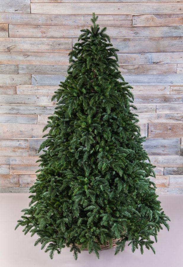 Искусственная елка Нормандия 425 см темно-зеленая