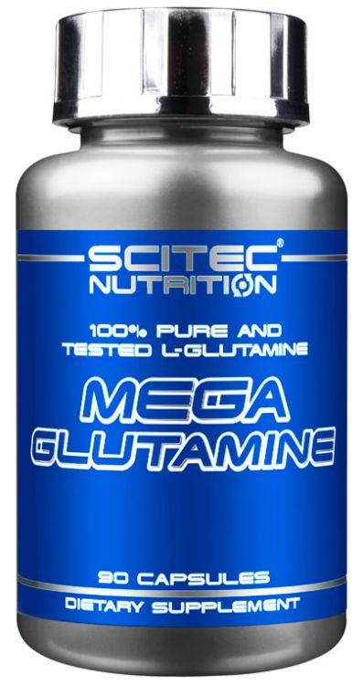 MEGA GLUTAMINE SCITEC NUTRITION (90 кап)