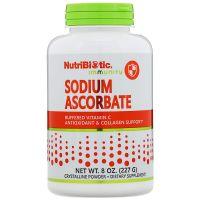 Витамин С, Sodium Ascorbate, Crystalline Powder Nutribiotic, (454g)