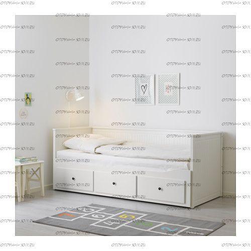 Кровать Соня-3 выкатная двухъярусная (массив) №В