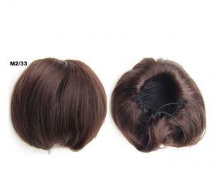 """Искусственные термостойкие волосы - Шиньон """"Бабетта"""" #M2/33, вес 80 гр"""