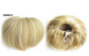 """Искусственные термостойкие волосы - Шиньон """"Бабетта"""" #22H613, вес 80 гр"""