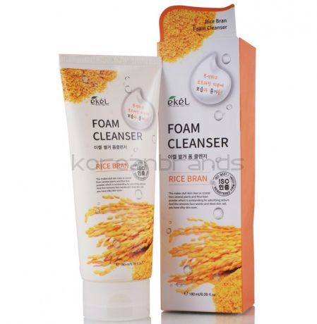 Ekel Foam Cleanser (Rice Bran), 180 мл