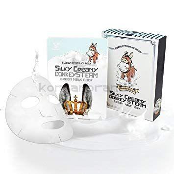 Elizavecca Silky Creamy Domkey Steam Cream Mask