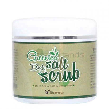 Elizavecca  Milky Piggy Greentea Salt Body Scrub 600g