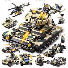 Конструктор Танк морской пехоты 33 в 1  Lego реплика 834 деталей