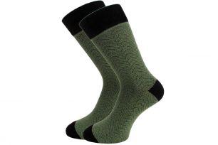 Мужские цветные носки  с418 елочка 27-29