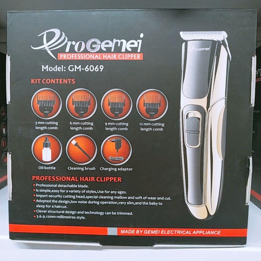 Машинка для стрижки профессиональная на аккумуляторе  ProGEMEI GM6069