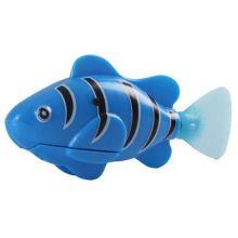 Роборыбка (Robo Fish) Клоун интерактивная игрушка, Цвет: Синий