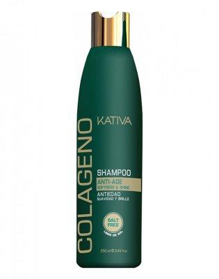 Шампунь для волос коллагеновый COLLAGENO Kativa, 250 мл.