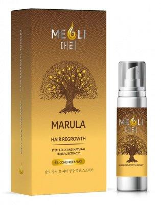 Спрей от выпадения и для быстрого роста волос, MEOLI, 80 мл