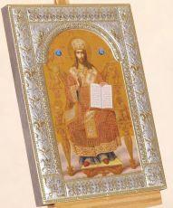 Икона Господь Вседержитель (на престоле) (18х24см)