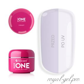 Gel Base One Violet Silcare 5 гр