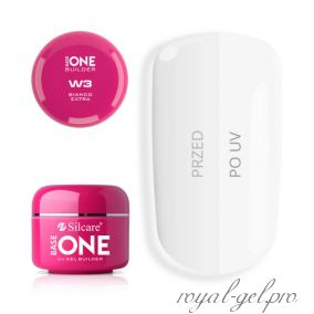 Gel Base One Bianco Extra W3 Silcare 30 гр