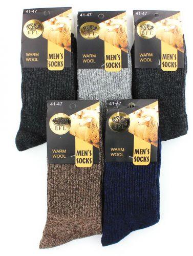 Мужские носки тёплые BFL HA512 ангора