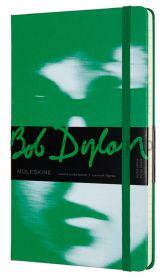 Книжка зап.Moleskine Large BOB DYLON линейка зеленая LEBDQP060A