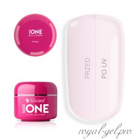 Gel Base One Pink Silcare 50 гр