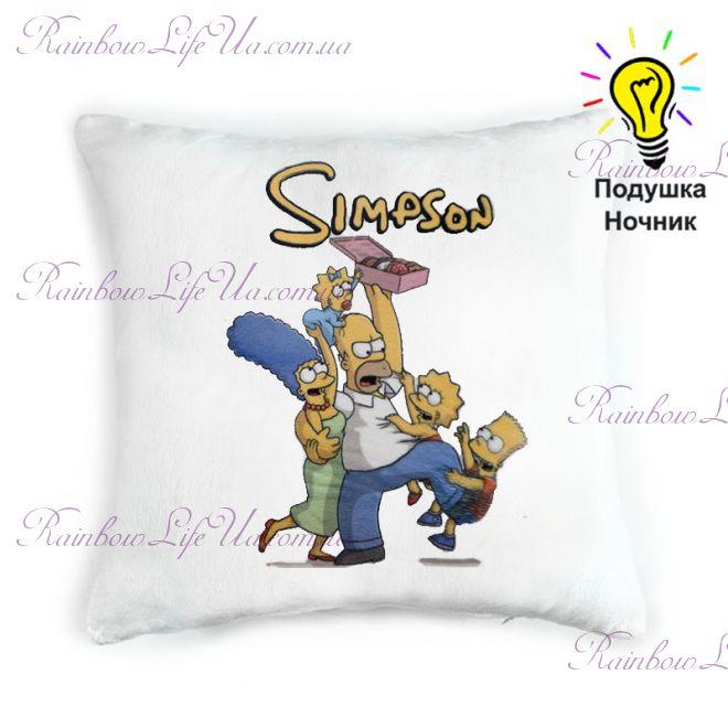"""Подушка светящаяся """"Simpson"""""""